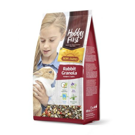 Hope Farms konijn granola (800 gram)