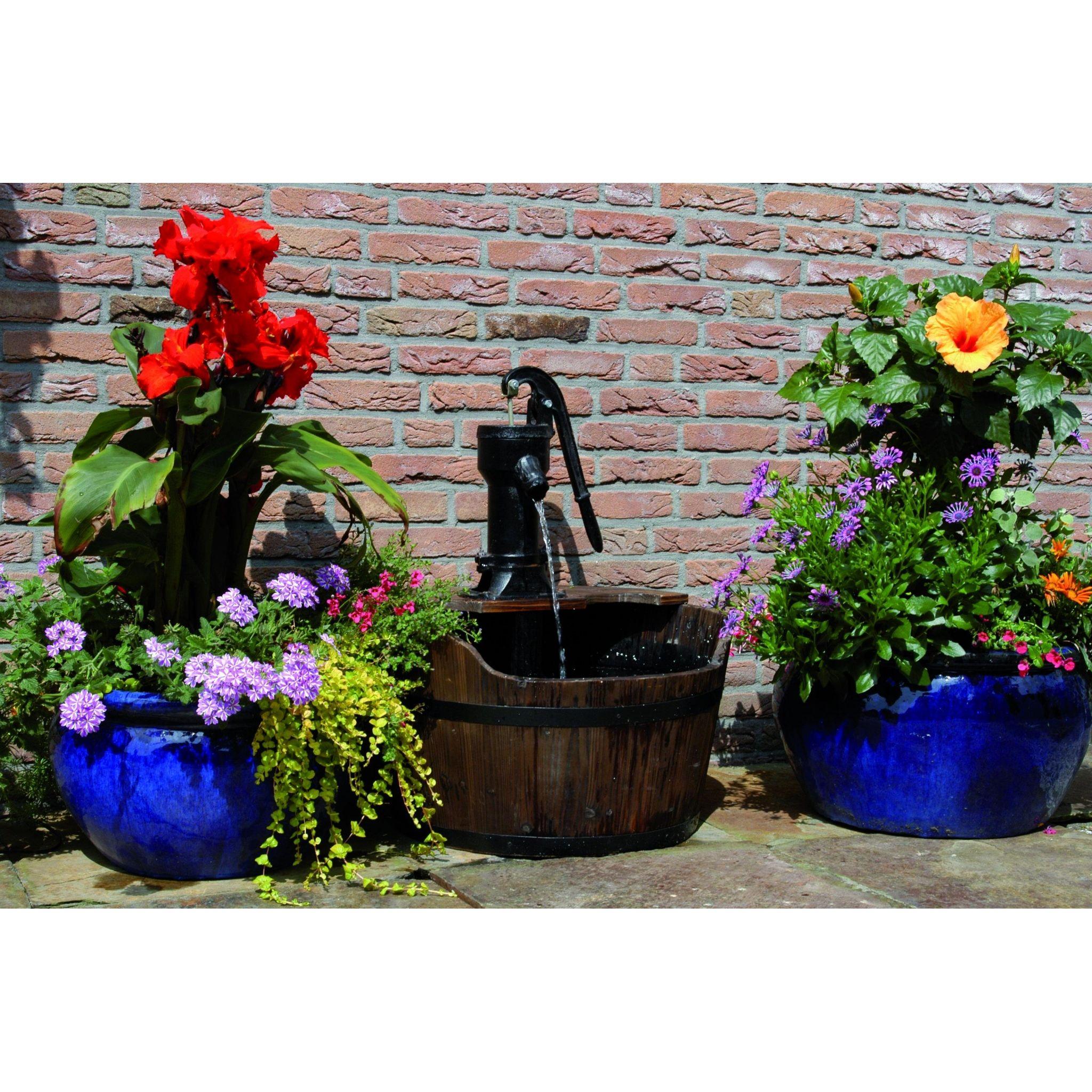 Set newcastle met pomp waterornamenten tuindecoratie tuininrichting buiten tuincentrum - Tuindecoratie buiten ...
